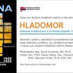 Pozvánka na seminář Hladomor: stalinská kolektivizace a sovětská tragédie 1929–1933 (Praha, ÚSTR, 07.03.2013)