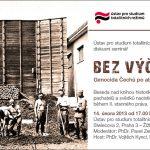 Pozvánka na besedu nad knihou Bez výčitek. Genocida Čechů po atentátu na Reinharda Heydricha (Praha, ÚSTR, 14.02.2013)