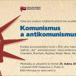 Pozvánka na přednášku Romana Jocha Komunismus a antikomunismus v Americe (Praha, ÚSTR, 25.04.2013)