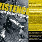 Pozvánka na letní školu pro učitele: Rezistence v soudobých českých dějinách (ÚSTR, 29.–30. 08.2013)
