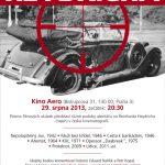 Pozvánka na filmovou přehlídku Proměny atentátu na Heydricha (Kino Aero, 29. 8. 2013, začátek: 20.30)