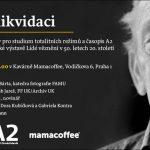 Pozvánka na diskusi nad výstavou Určeni k likvidaci (26.09.2013, Praha, Kavárna Mamacoffee)