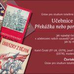 Pozvánka na přednášku Učebnice soudobých dějin: překážka nebo pomocník při výuce soudobých dějin? (Praha, ÚSTR, 31.10.2013)