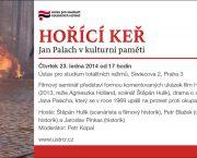 Pozvánka na seminář Jan Palach v kulturní paměti