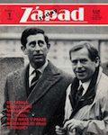 Obálka časopisu Západ