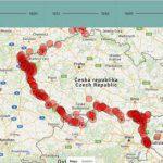 Odkaz na interaktivní mapovou aplikaci Usmrcení na československé hranici