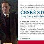 Pozvánka na folmový seminář České století (Praha, ÚSTR, 29.05.2014)