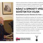 Pozvánka na diskuzi s Revazem Cincadzem Náhlý a sprostý vpád sovětských vojsk (Komunikační prostor Školská 28, Praha 1, 21. srpna 2014, 18.00)