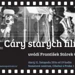 Pozvánka na filmový večer Cáry starých filmů (PrahaSametové centrum, 11.11.2014)