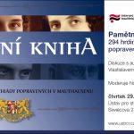 Pozvánka na diskuzi s autory Pamětní knihy připomínající oběti heydrichiády