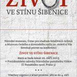 Pozvánka na konferenci Život ve stínu šibenice (Praha, Národní památník na Vítkově, 10.09.2015)
