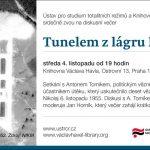 Pozvánka na setkání s Antonem Tomíkem, politickým vězněm z 50. let (Praha, 04.11.2015, 19.00 v Knihovně Václava Havla, Ostrovní 13, Praha 1)