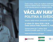 Politika a svědomí: výstava k nedožitým osmdesátinám Václava Havla