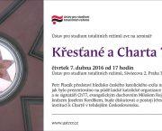 Pozvánka na seminář Křesťané a Charta 77