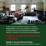 Pozvanka na diskuzis režisérem Markem Janáčem a historikem Petrem Blažkem (Praha, NZM, 01.06.2016 od 18.00)