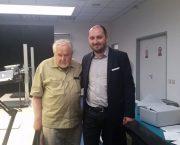 Navštívil nás spisovatel a politolog Ota Ulč