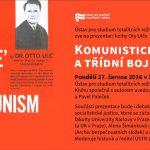 Pozvánka na prezentaci knihy Komunistická justice a třídní boj (Praha, ÚSTR, 27.6.2016)