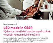 Seminář LSD made in ČSSR