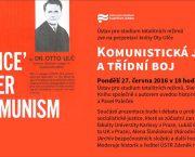 Prezentace knihy Komunistická justice a třídní boj