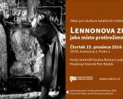 Lennonova zeď v Praze jako místo protirežimních demonstrací