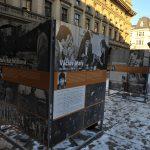 Vernisáž výstavy na náměstí Václava Havla v Praze