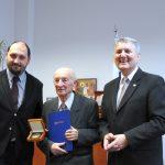 Předání Ceny ÚSTR Martinu Jancovi