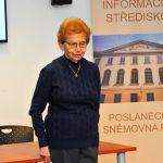 Dagmar Lieblová, předsedkyně Terezínské iniciativy