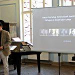 Historik Jan Dvořák přednáší o výstavě Židé v gulagu v Rize