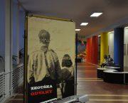 Výstava Zkouška odvahy na základní škole v Litvínově