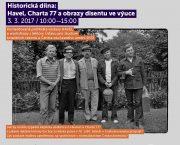 Historická dílna: Havel, Charta 77 a obrazy disentu ve výuce