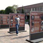 Výstava Československý exil 20. století na Sofijském náměstí v Praze