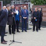 Slavnostní zahájení výstavy Československý exil 20. století ve Valdštejnské zahradě