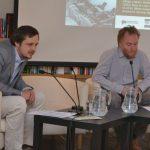 Jan Dvořák a Jan Horník z Ústavu pro studium totalitních režimů