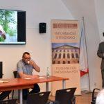 Seminář zahájil Petr Dvořáček, vedoucí Archivu Poslanecké sněmovny