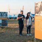 Výstava Nemohli jsme mlčet. Lidé Charty 77 na festivalu Pohoda