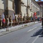 Vzpomínka na parašutisty u kostela v Resslově ulici