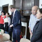 Mezi návštěvníky se tentokrát objevili i hosté z Číny, bojovníci za lidská práva