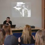 Jaroslav Pinkas z vzdělávacího oddělení ÚSTR ve filmovém bloku představil proměny obrazu III. odboje