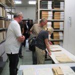 V depozitáři archivních fondů StB by někteří návštěvníci vydrželi dlouho