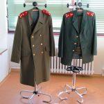K navození dobové atmosféry posloužily i uniformy příslušníků SNB. Zejména starší návštěvníci je měli v dobré paměti