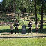 Uctění památky obyvatel Ležáků