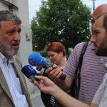 Sergej Parchomenko, ruský novinář a iniciátor ruské verze projektu Poslední adresa