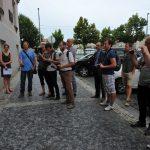 Odhalení pamětní desky popravenému studentovi Karlu Bacílkovi