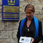Její Excelence, velvyslankyně Švédska Viktoria Li