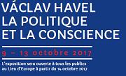 Výstava Václav Havel – Politika a svědomí ve Štrasburku