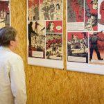 Výstava Ještě jsme ve válce v Green Belt Center v Rakousku