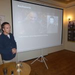 Adam Hradilek na přednášce v Jičíně