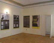 Výstava Židé v Gulagu v budově bývalé židovské školy v Jičíně