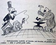 Plakát a karikatura