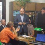 Ředitel ÚSTR Zdeněk Hazdra na setkání s novináři k tématu Čechoslováků v sovětských táborech GUPVI